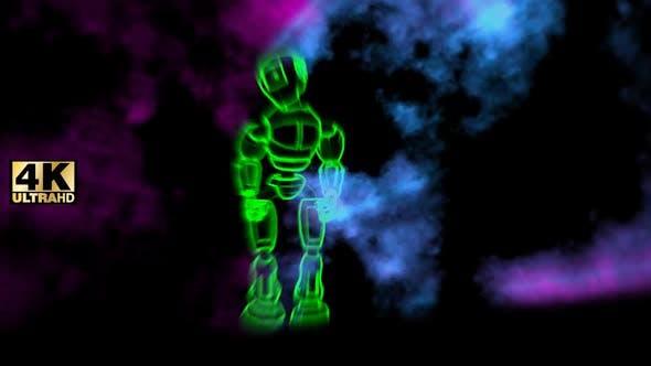 Thumbnail for Vj Robot Dancer