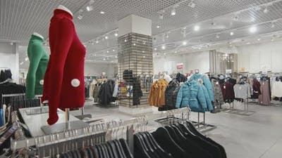 Overview Of Clothing Store