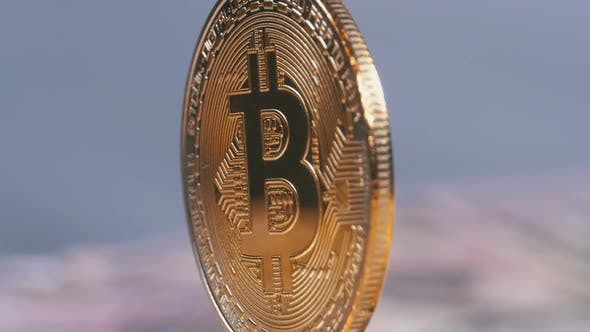 Cover Image for Gold Bitcoin Coin Cryptocurrency