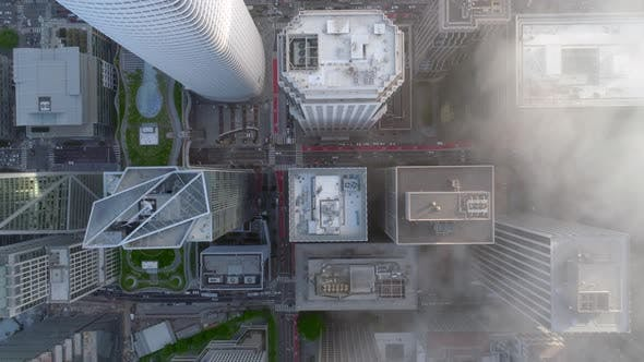 Thumbnail for San Francisco's Financial District View from The Top Slow Motion
