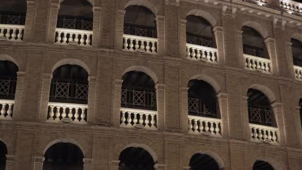 Thumbnail for Night View of Plaza De Toros De Valencia, Spain