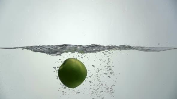 Thumbnail for Green Apple Water Splash