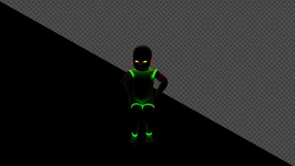 Thumbnail for Baby Neon Loop Dancer