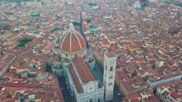 Thumbnail for City and Cathedral of Santa Maria Del Fiore. Florence, Tuscany, Italy