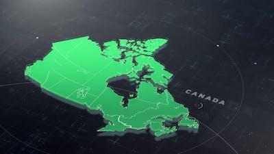 Digital Tech Canada Map