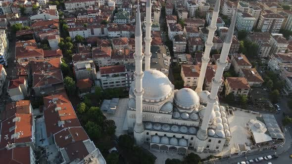 Thumbnail for Islamic Mosque Drone Shot