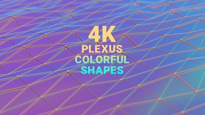Plexus Colorful Shapes