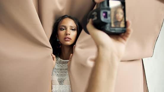 Thumbnail for Female Model Posing for Portrait