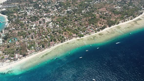Thumbnail for Drone Over Gili Air Island
