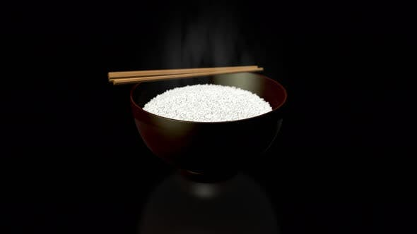 Thumbnail for Pivoting on a Rice Bowl Black Reflective Floor