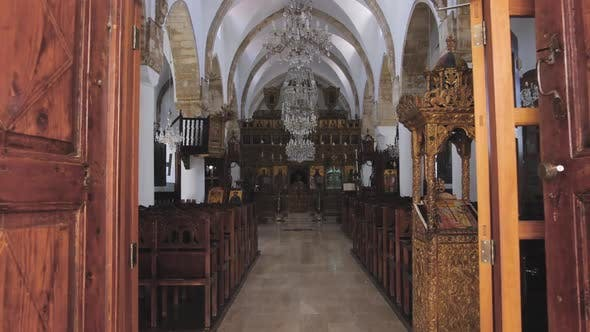 Thumbnail for Interior of Greek Orthodox Church