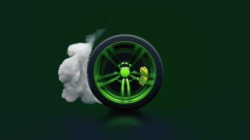 Spinning Wheel 4K
