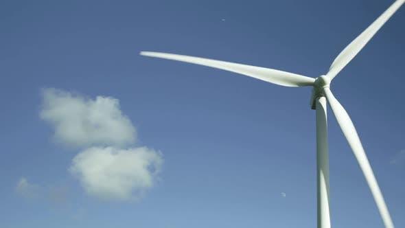 Thumbnail for Wind turbine against sky