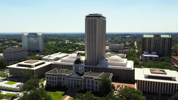 Thumbnail for Aerial video Florida State Capitol Building Tallahassee