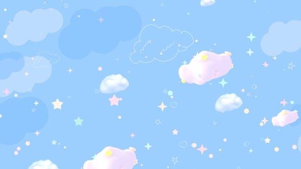 Cartoon Clouds Sky