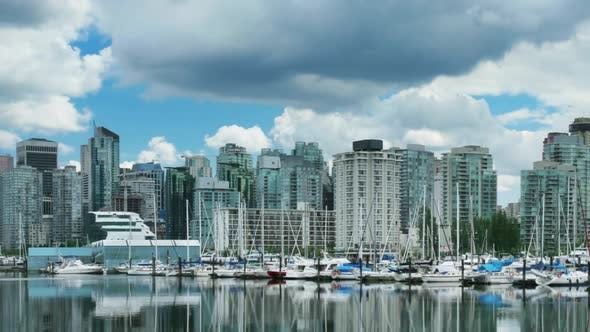 Thumbnail for Vancouver Skyline Time Lapse