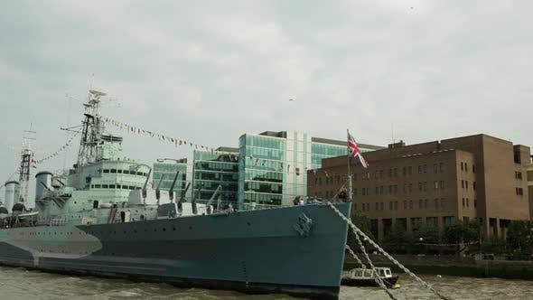 Thumbnail for London city river cruise boat thames urban landmarks