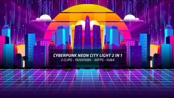 Thumbnail for Cyberpunk Neon City Light 2 In 1
