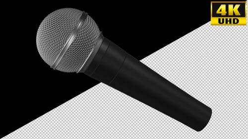Microphone On Alpha Channel Loops V1