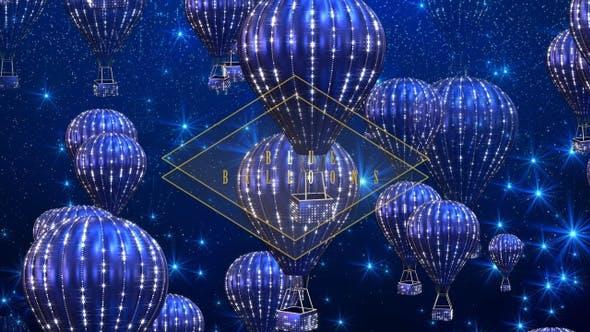 Thumbnail for Blue Hot Air Balloons