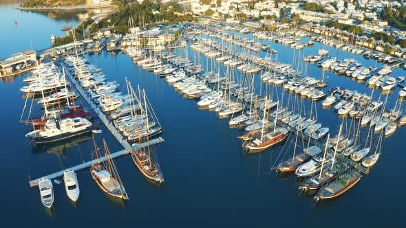Thumbnail for Bodrum Port with Yachts