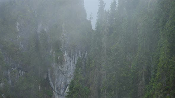 Fog Covered  Mountains 6