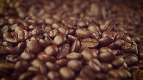 Thumbnail for Coffee Beans Closeup