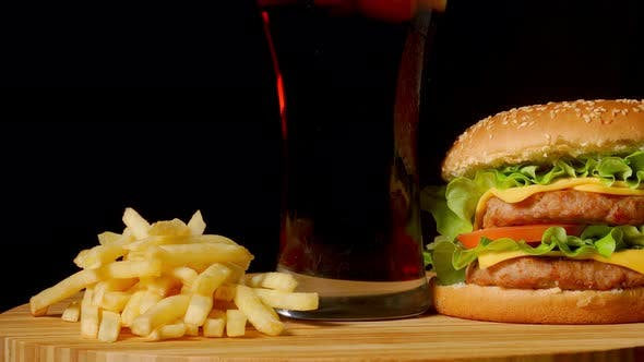 Thumbnail for Double Cheese Burger with Jalapeno Tomato Onion