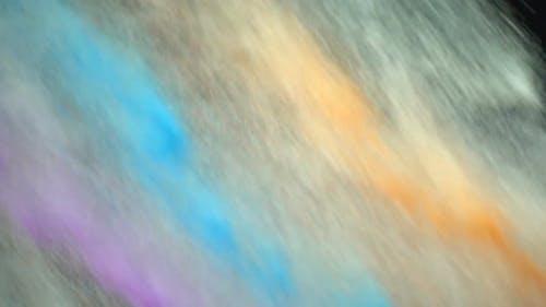 Colored Powder Diagonally