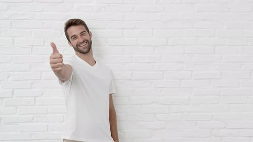 Guy Giving Thumbs Up