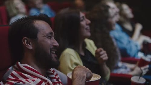 Couple Watching Comedy