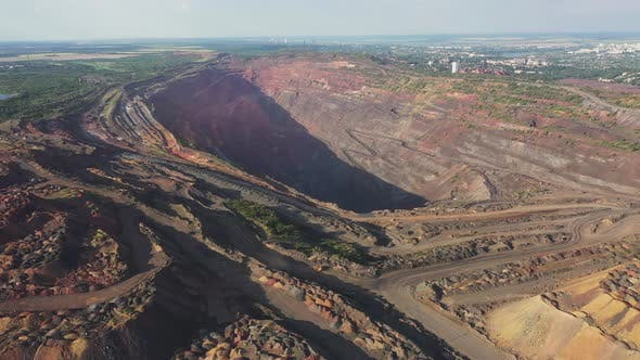 Thumbnail for Large Industrial Quarry Aerial View