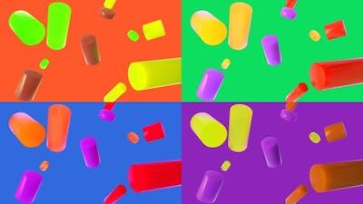 Colorful Primitives