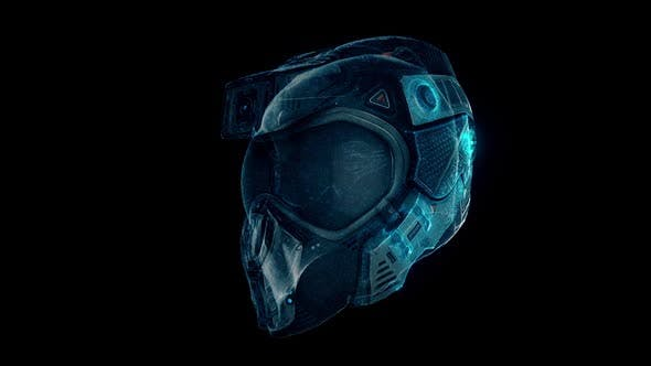 Fighter Pilot Helmet Hologram Hd