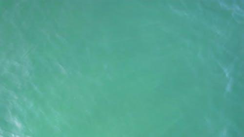 Sea Background Drone View