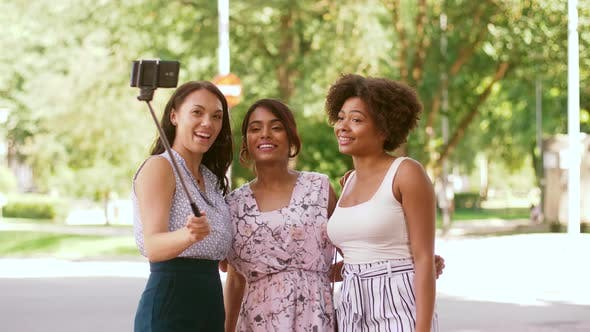 Thumbnail for Women or Bloggers Recording Video By Smartphone