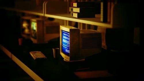 Old Dark Vintage Computing Laboratory