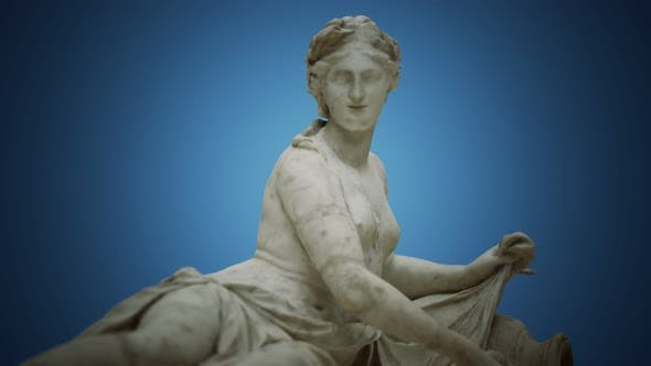 Thumbnail for Aretheus White Marble Statue