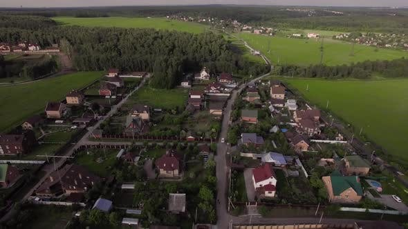 Thumbnail for Flying Over Countryside in Russia
