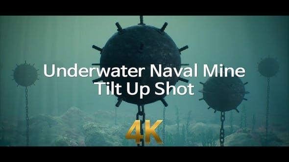 Thumbnail for Underwater Naval Mine Tilt Up Shot 4K
