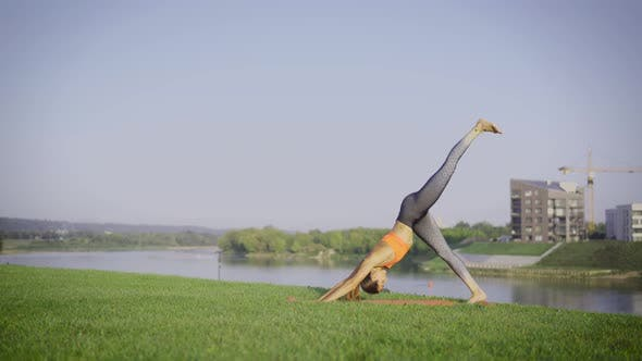 Thumbnail for Daily Yoga Exercise Outdoor