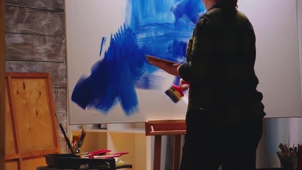 Thumbnail for Painter in Studio