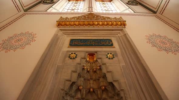 Thumbnail for Istanbul Arap Mosque Mihrap 2