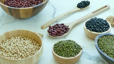 Mix beans healthy food