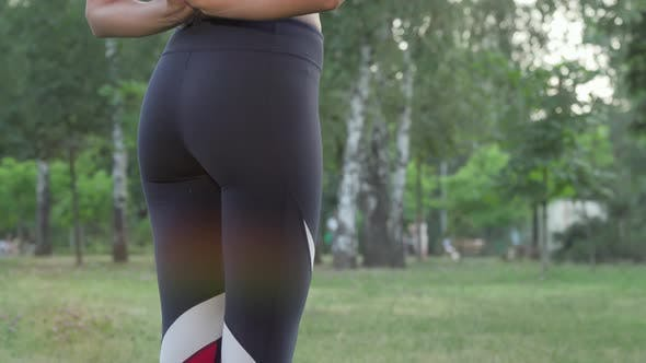 Thumbnail for Attractive Woman Smiling To the Camera After Practicing Yoga Outdoors
