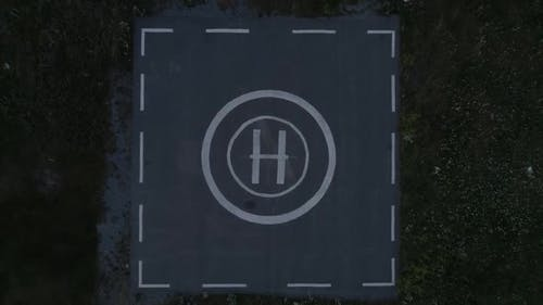 Takeoff From Helicopter Helipad