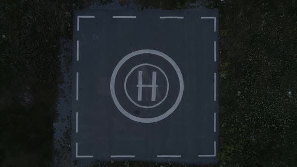 Thumbnail for Takeoff From Helicopter Helipad