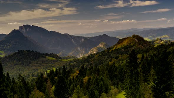 Thumbnail for Pieniny Mountains