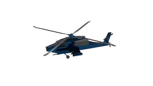 Long range attack helicopter