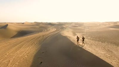 Workout in the Desert